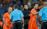 荷兰队对判罚不满