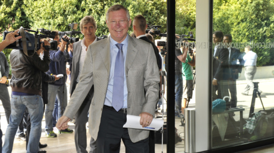 弗格森出席欧足联精英教练论坛