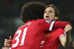 英超-天使伤退两后腰救主曼联2-2平将战切尔西