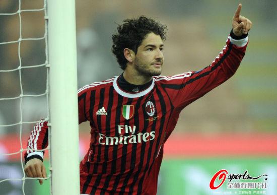 帕托今年仅有的三个进球之一,对阵诺瓦拉