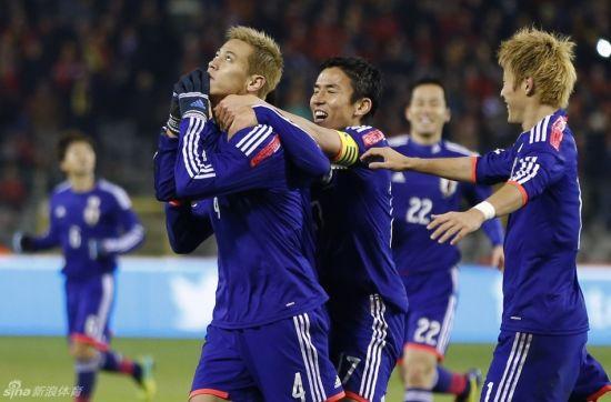 本田圭佑一手导演了日本逆转比利时
