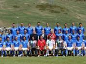意大利拍摄世界杯全家福