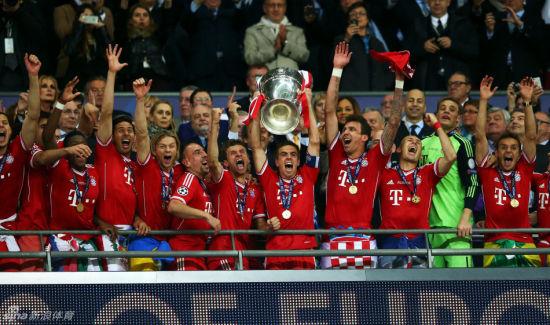 欧冠最佳球队非拜仁莫属