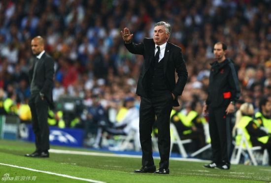 安切洛蒂表示皇马没有贝尔、C罗50%的状态赢下拜仁不容易