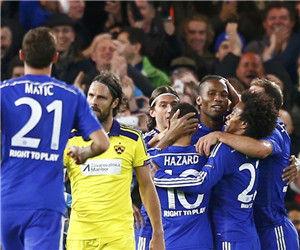 欧冠-德罗巴特里进球阿扎尔梅开二度切尔西6-0胜