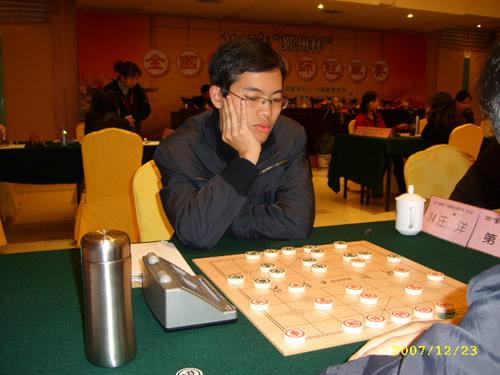 全国象棋大师赛蒋川战和继续领先图片