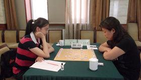 智英会象棋女子选拔次日唐丹连下两城登上榜首(谱)