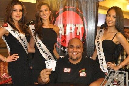 上一届APT亚洲系列赛果阿站冠军Mohan