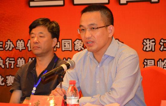 温岭市长:打造象棋界的知名赛事和温岭城市新名片图片