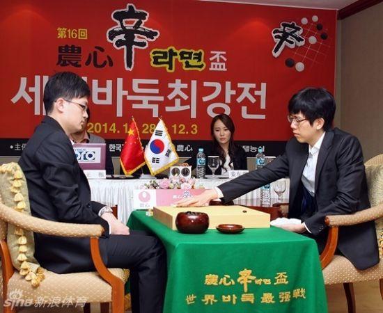 农心杯第5局姜东润打将犯错王檄离奇逆转获胜