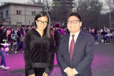 北大体育之夜蒋川出席颁奖 赞北大京华杯九胜清华