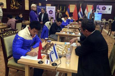 国象男团赛小将韦奕建功 中国队力克劲敌以色列