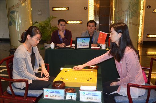 围棋女团赛中国蝉联冠军芮乃伟三连胜立功