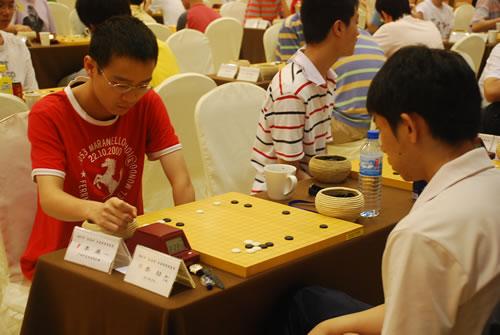 图文-段位赛第3轮现场聚焦李康VS新六段李��