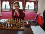 图文-国象世锦赛16强战现场棋手大科辛采娃