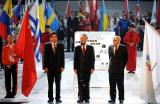 图文-首届世界智力运动会在京开幕刘鹏等领导致辞