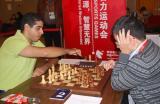 图文-智运国象团体超快棋半决赛贾耶姆迅速按钟