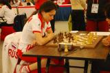 图文-国象超快棋团体半决赛&决赛俄罗斯靓丽美女