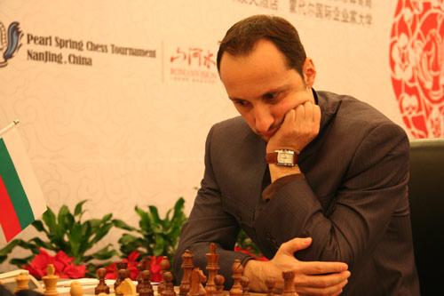 图文-南京国象特级大师赛第7轮托帕洛夫杀气眼神