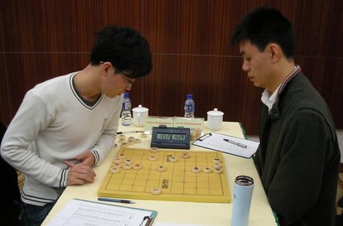 许银川象棋�:-f����,,_图文-亚运会象棋选拔赛第三轮 赵鑫鑫弈和许银川