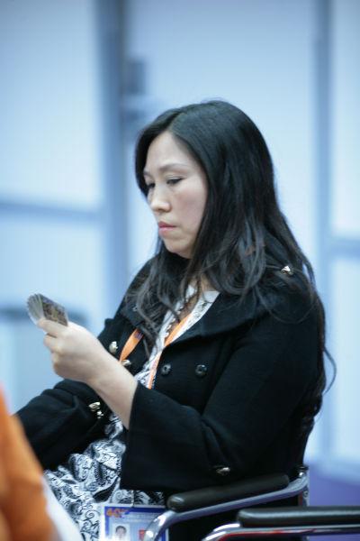 中国女队队员卢燕