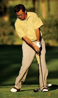 球技-四指握杆调整力度防止依靠手部和臂部发力
