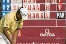 中巡赛陈小马两杆优势领先杨涛丽成功晋级决赛