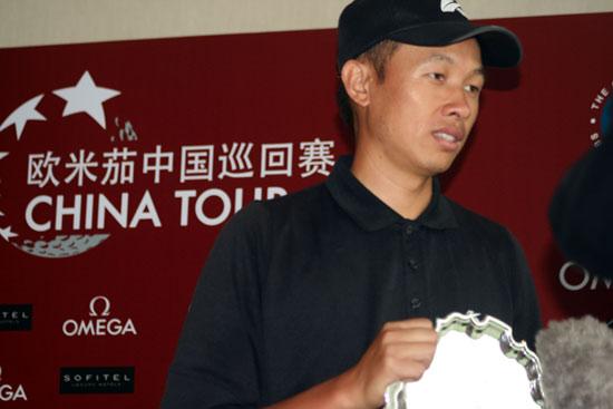 中巡赛上海锦标赛中国台北许孟男反超四杆夺冠