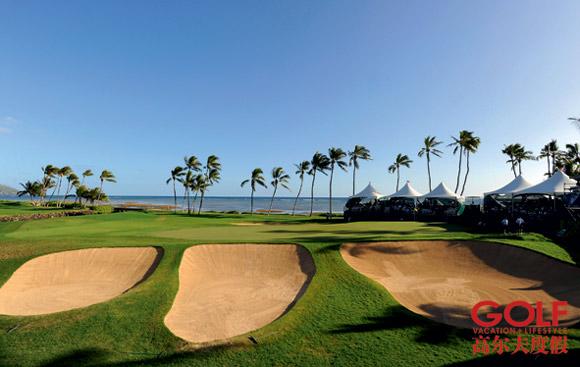 """倾听夏威夷尝试""""太平洋高尔夫""""魅力(图)"""