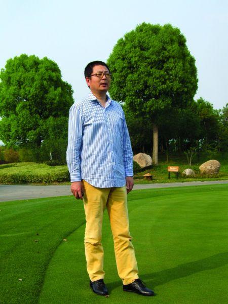 浙江海宁尖山高尔夫俱乐部总经理杨科军