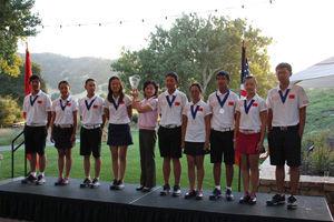 中美青少年赛中国队个人赛5胜3平2分逆转胜美国