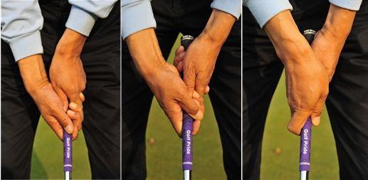 《高尔夫经典技法100篇》 第十课:握杆三原则