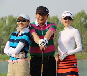 全明星高尔夫球队四月月赛李瀚均/宋晓波总杆冠军