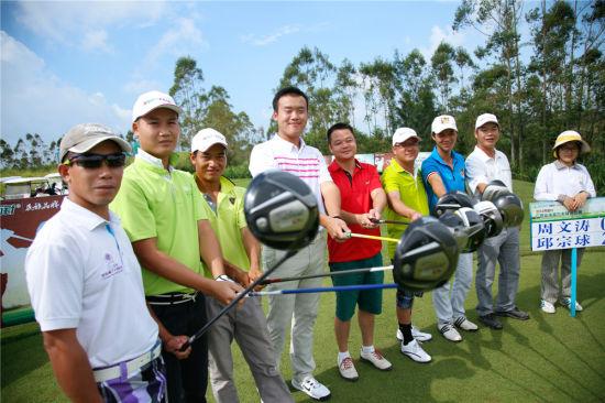 广西业余高尔夫球巡回赛 江山半岛站创三个第一次