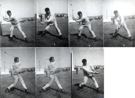 看看阿里的高尔夫挥杆(图片来源:美国高尔夫文摘)