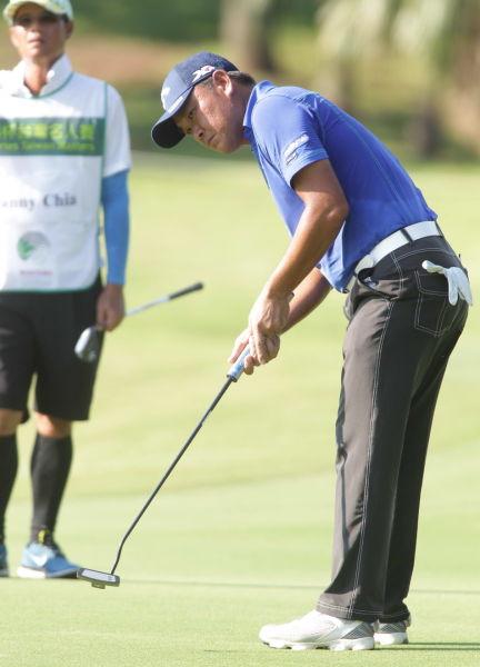 马来西亚头号高尔夫球手谢志荣