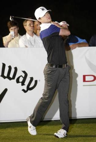 卡拉威高尔夫贾斯汀百万美元DIABLO击球活动