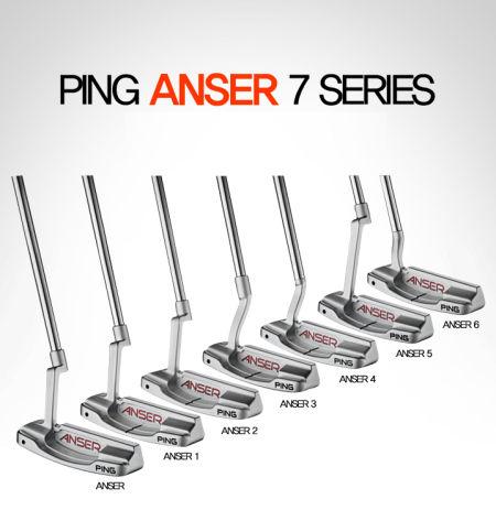 PING ANSER 7个型号系列推杆 永恒的经典