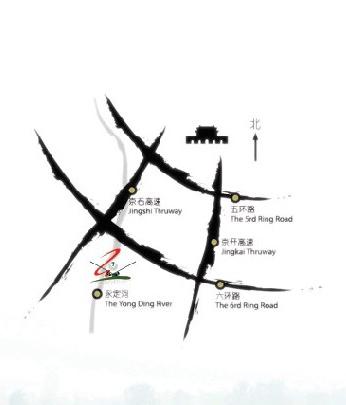 北京思格森(林克斯)高尔夫俱乐部位置图示