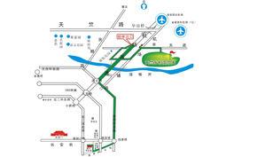 北京天竺高尔夫俱乐部位置图示