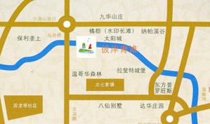 北京彼岸青滩高尔夫俱乐部位置图示
