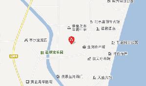 秦皇岛阿那亚国际高尔夫俱乐部位置图示