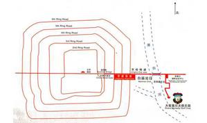北京大宗高尔夫俱乐部位置图示