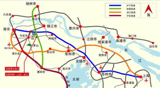南京龙山湖高尔夫度假村位置图示