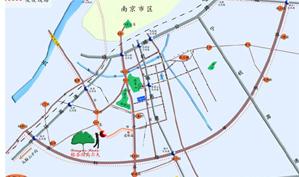 南京银杏湖国际高尔夫俱乐部位置图示