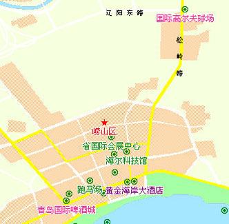 青岛市石老人国家旅游渡假区,距市中心仅约10公里,距离流亭国际机场也