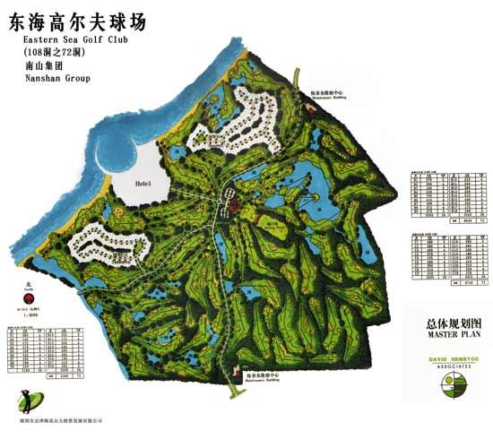 山东南山国际-东海海景高尔夫俱乐部球场介绍
