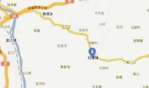 攀枝花红山国际乡村俱乐部位置图示