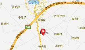 云南昆明星耀国际运动俱乐部位置图示
