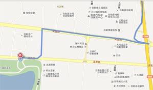 云南红河春天高尔夫俱乐部位置图示